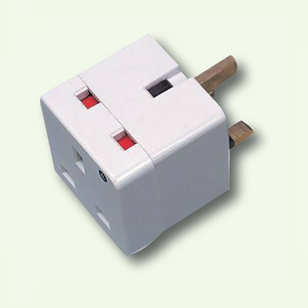 The Bubbles, Brushes & Wipers Company Ltd   3 WAY PLUG ADAPTOR